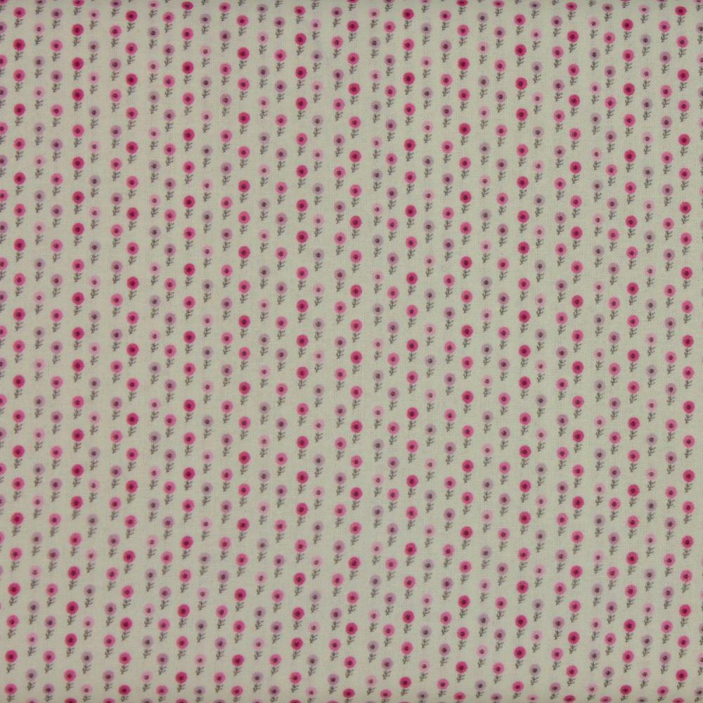 Indigo Fabrics - Whisper Floral (150cm wide fabric)