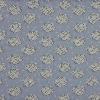 Clouds in Blue (150cm wide fabric) (£12pm)