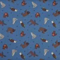 Lewis and Irene Small Things World Animals North America Patchwork Quilting 100% Cotton Fabric