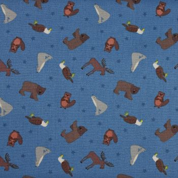 Lewis and Irene Small Things World Animals North America Patchwork Quilting 100% Cotton Fabric (£12pm)
