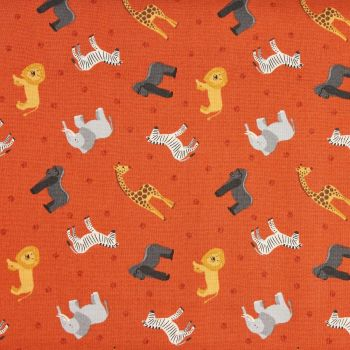 Lewis and Irene Small Things World Animals Africa Patchwork Quilting 100% Cotton Fabric (£12pm)