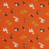Lewis and Irene Small Things World Animals South America Patchwork Quilting 100% Cotton Fabric (£12pm)