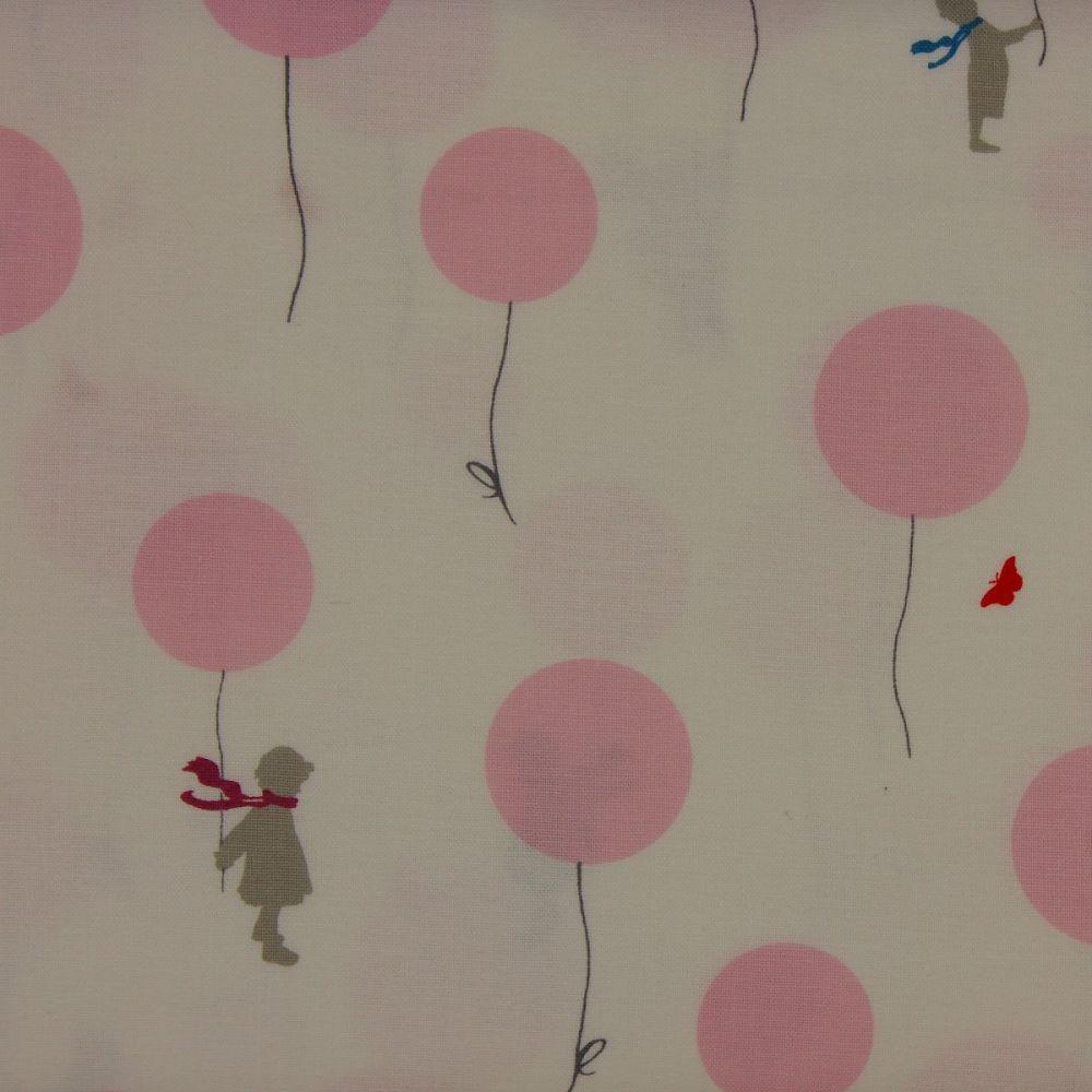 Little Friends by Gutermann - Balloon in Pink