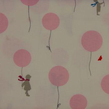 Little Friends by Gutermann - Balloon in Pink (£11pm)