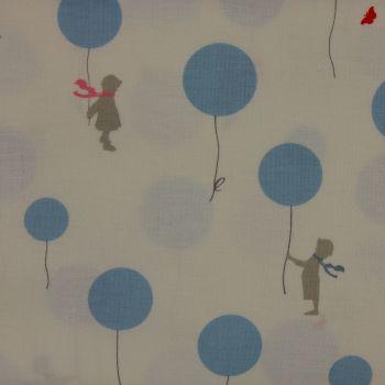 Little Friends by Gutermann - Balloon in Blue (£11pm)