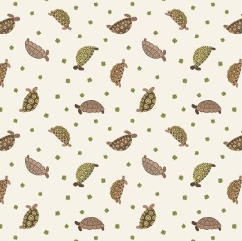 Lewis and Irene Small Things Pets - Tortoises - Patchwork Quilting 100% Cotton Fabric  (£12pm)