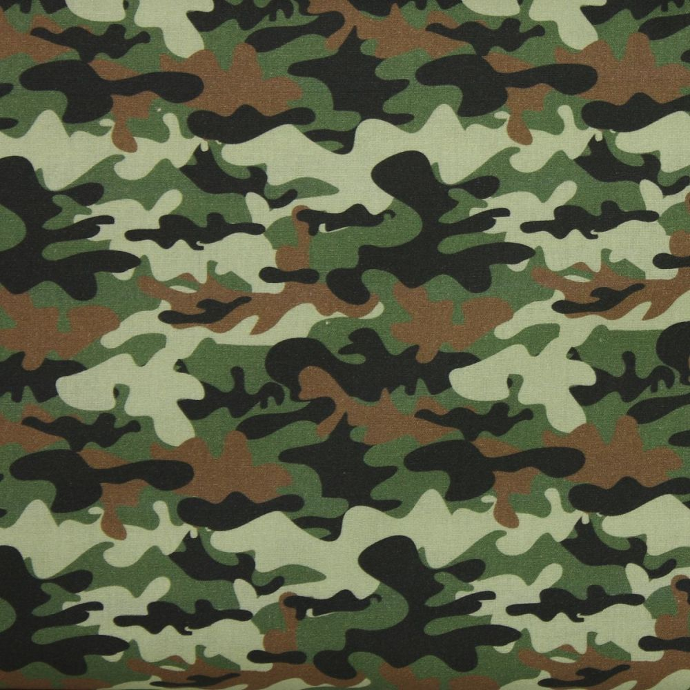Swafing Traditional Camouflage extra wide fabric (148cm) £10 per metre
