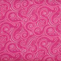 Crescendo Wave on Fuchsia 100% Cotton Patchwork Quilting Fabric (£13pm)
