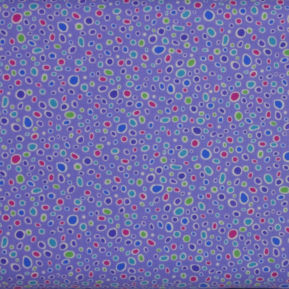 Crescendo Sand on Lavender 100% Cotton Patchwork Quilting Fabric