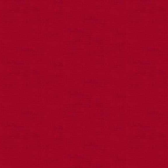 Makower Linen Texture on Cardinal