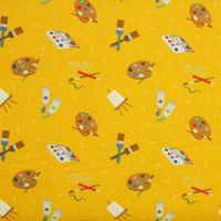 Small Things Crafts - Painting - 100% quilting/patchwork cotton