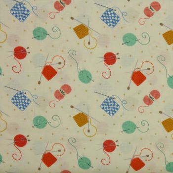 Small Things Crafts - Knitting & Crochet - 100% quilting/patchwork cotton