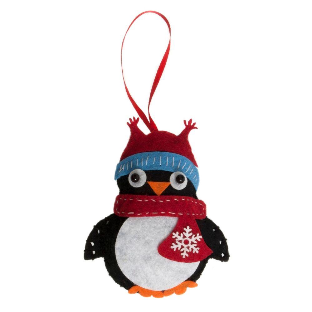 Penguin Felt Kit