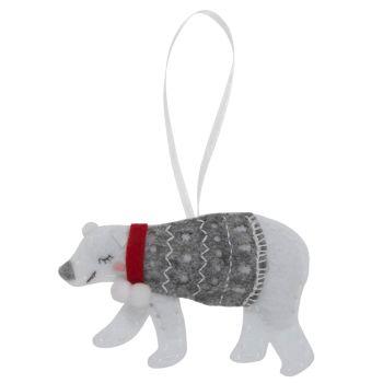 Polar Bear Felt Kit