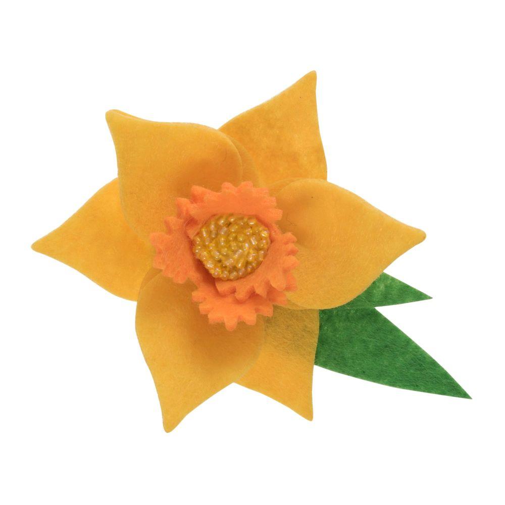 Daffodil Broach Felt Kit