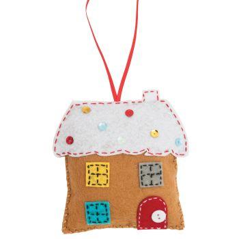Gingerbread House Felt Kit