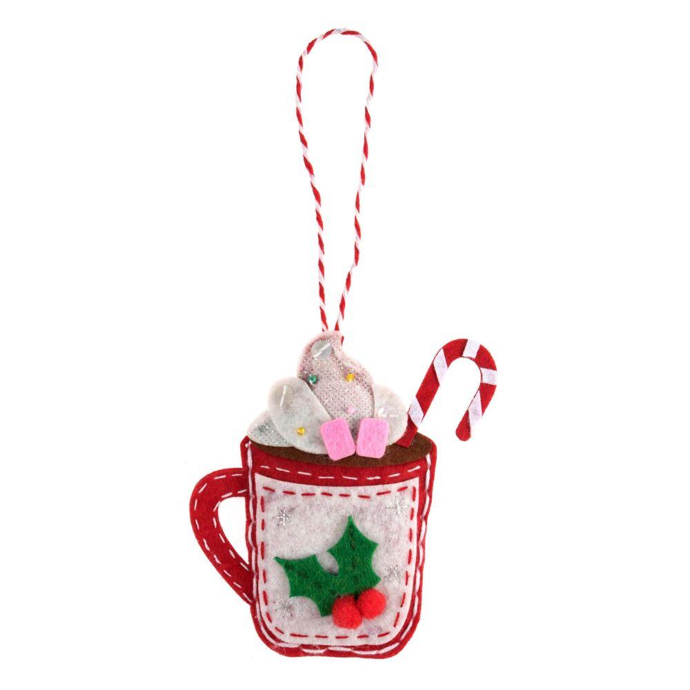Hot Chocolate Felt Kit