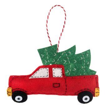 Christmas Truck Felt Kit