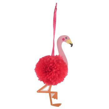 Pom Pom Decoration Kit - Flamingo