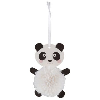 Pom Pom Decoration Kit - Panda