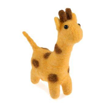 Mini Needle Felting Kit - Giraffe