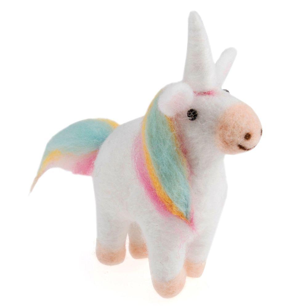 Mini Needle Felting Kit - Unicorn