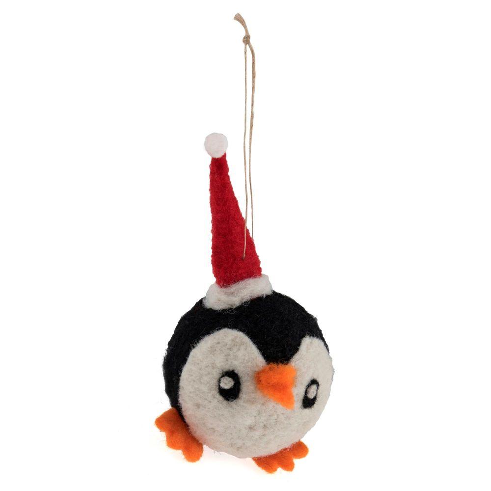Mini Needle Felting Kit - Party Penguin