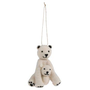 Mini Needle Felting Kit - Polar Bear