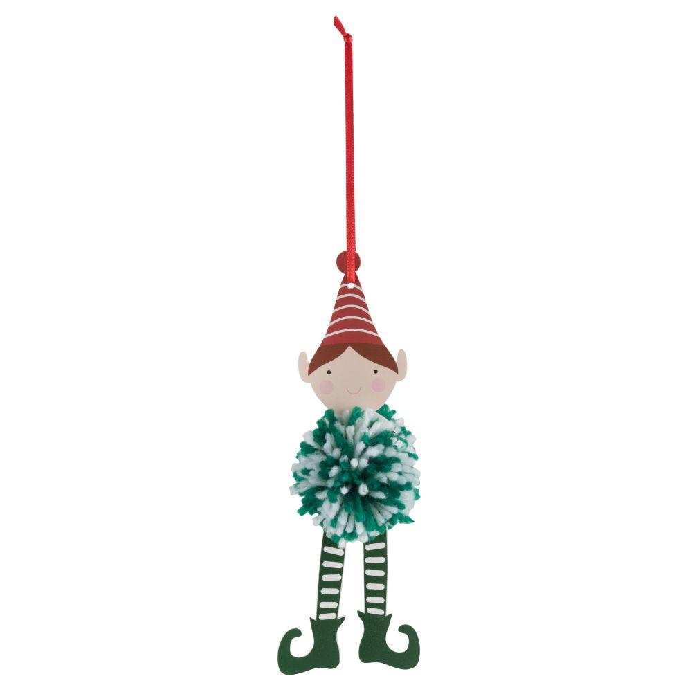 Pom Pom Decoration Kit - Elf