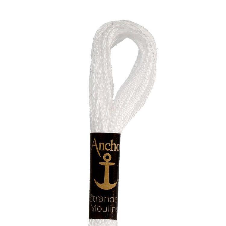 Anchor Stranded Cotton Thread - 001 (White)