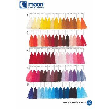 Coats Moon Sewing Thread - Card 1