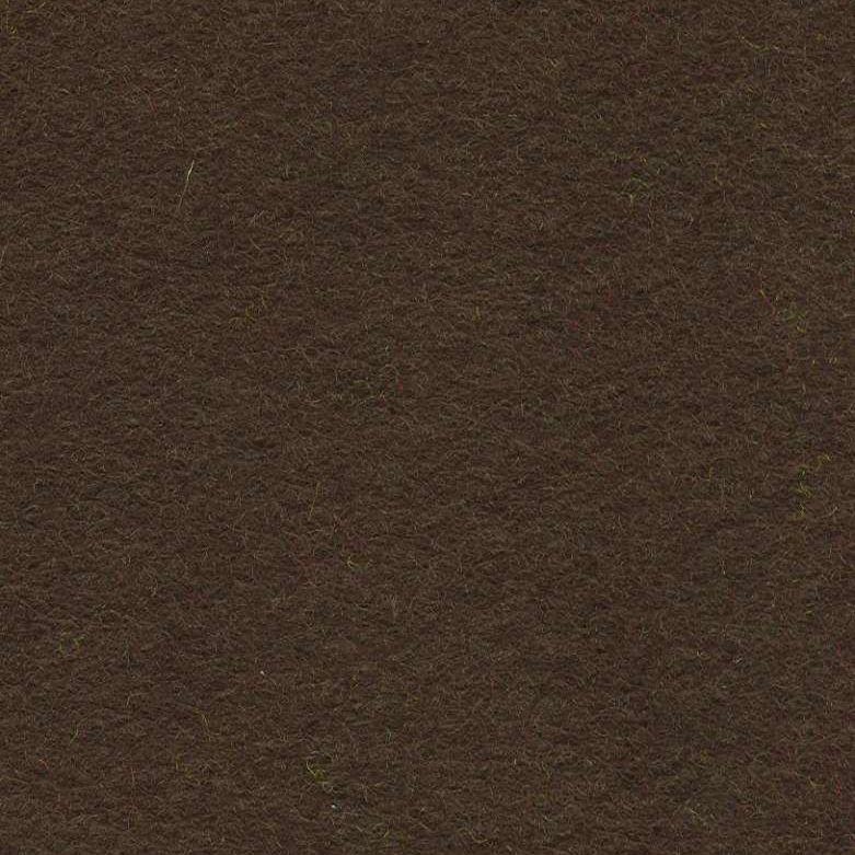 Wool Mix Felt - Dark Brown