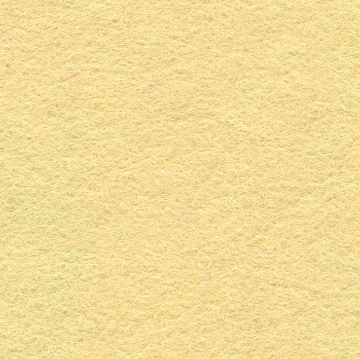 Wool Mix Felt - Cream