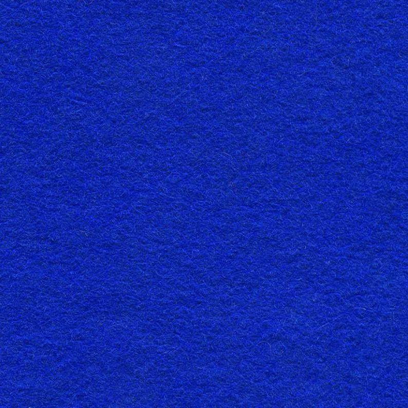 Wool Mix Felt - Royal