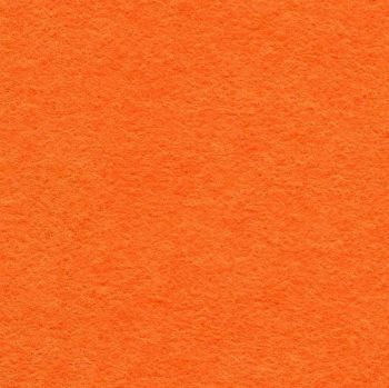 Wool Mix Felt - Dahlia / Orange