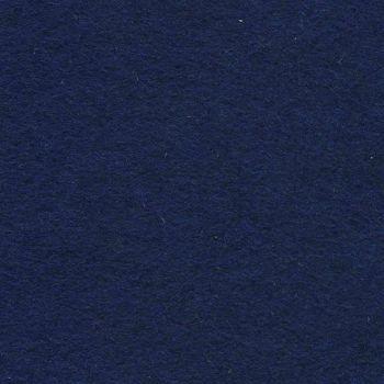 Wool Mix Felt - Navy