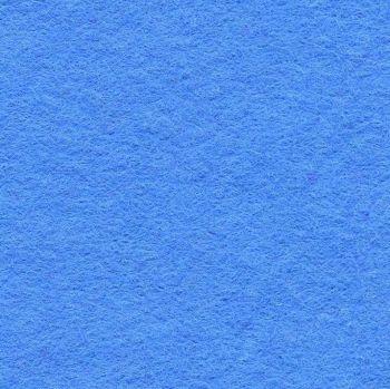 Wool Mix Felt - Mid Blue
