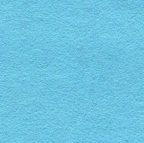 Wool Mix Felt - Light Blue