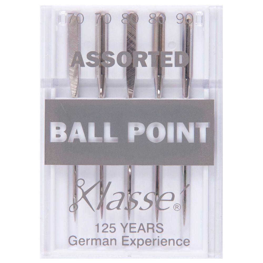 Klasse Machine Needles - Ball Point Assorted