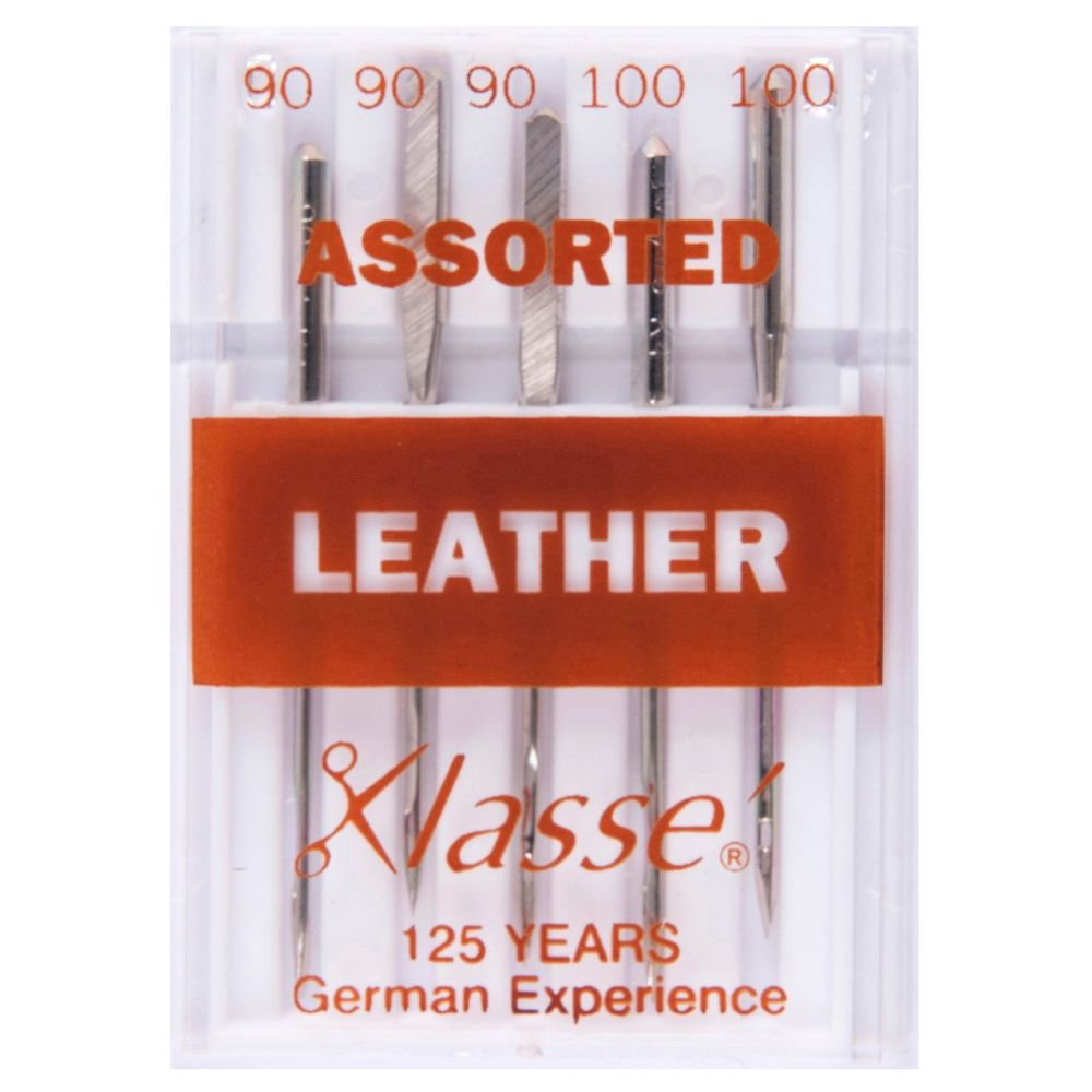 Klasse Machine Needles - Leather Assorted