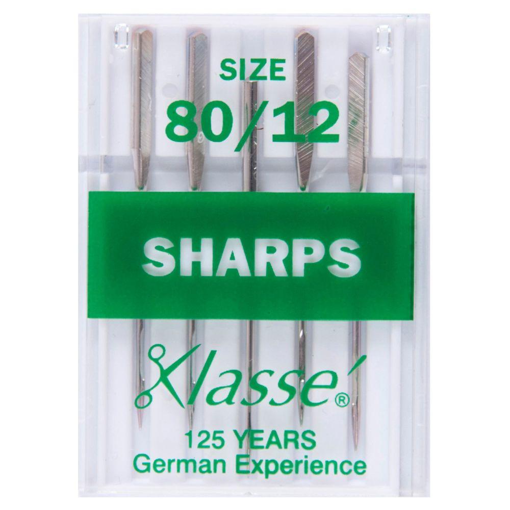Klasse Machine Needles - Sharps 80/12