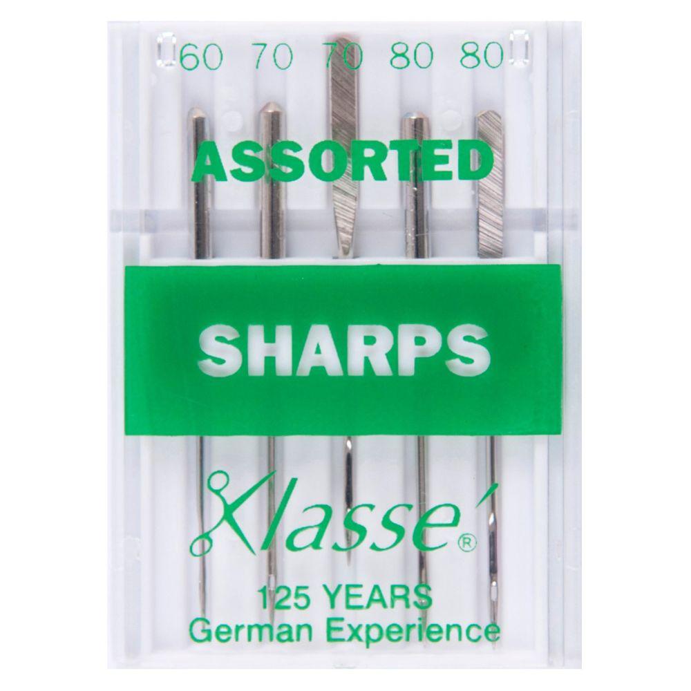 Klasse Machine Needles - Sharps Assorted