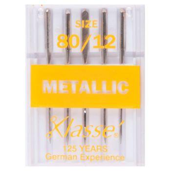 Klasse Machine Needles - Metallic 80/12