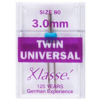 Klasse Machine Needles - Twin Universal 3.0mm