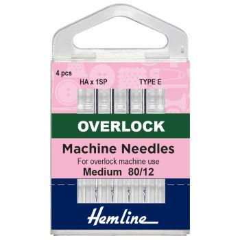 Hemline Overlock Machine Needles - Type E