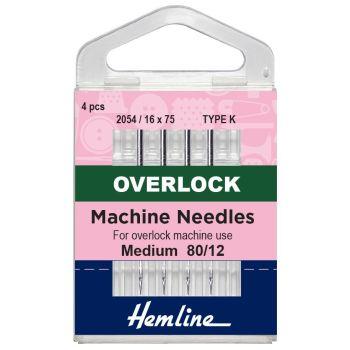 Hemline Overlock Machine Needles - Type K
