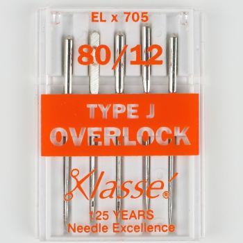Hemline Overlock Machine Needles - Type J