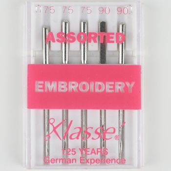 Klasse Machine Needles - Embroidery Assorted