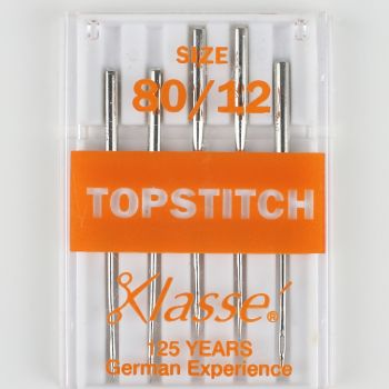 Klasse Machine Needles - Topstitch 80/12
