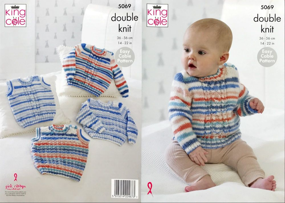King Cole Pattern 5069 Sweaters & Slipovers